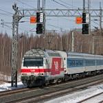 Фирменный поезд Лев Толстой