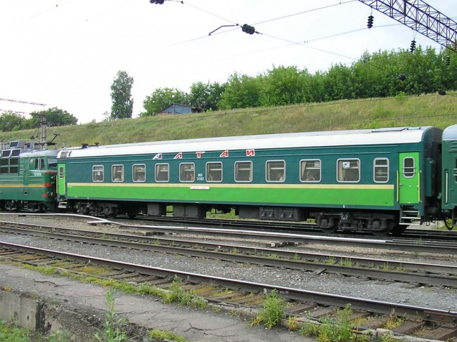 Фирменный поезд «Алтай»