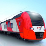 Фирменный поезд Ласточка