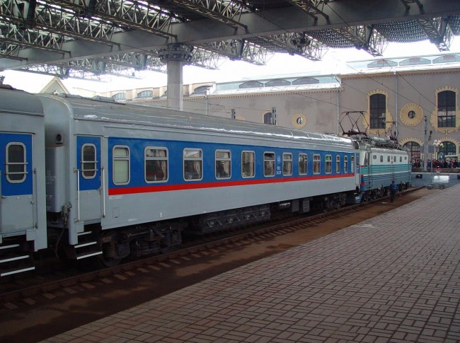 Фирменный поезд «Атаман Платов»