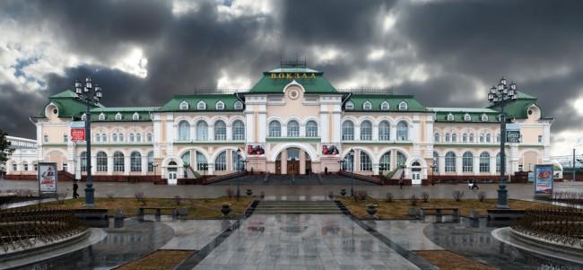 Вокзал Хабаровск 1