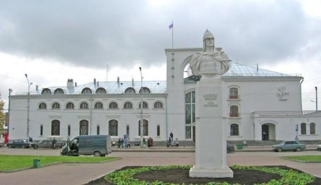 Вокзал Великий Новгород
