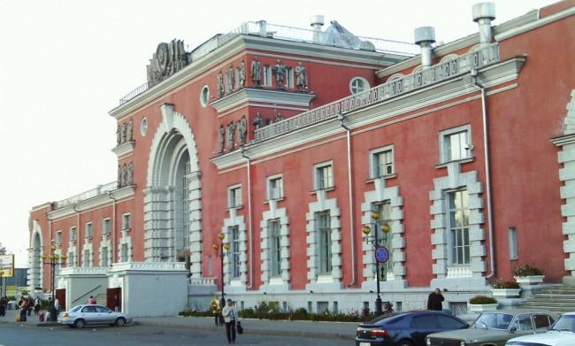 Вокзал города Курск