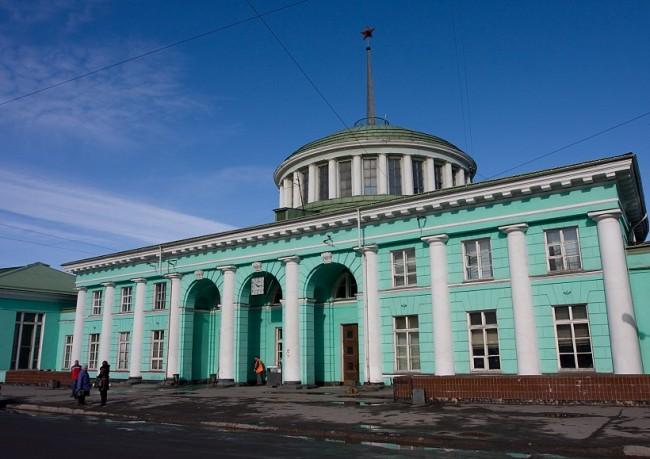 Мурманск вокзал