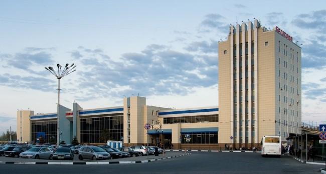 Вокзал города Белгород