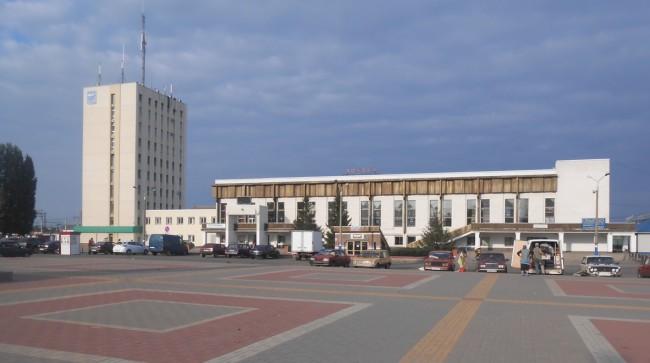 Вокзал города Лиски
