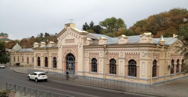 Вокзал города Кисловодск